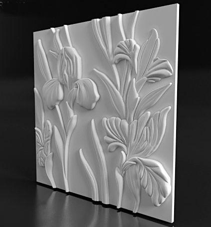 3D - панель арт. П - 124